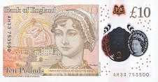 Англия: 10 фунтов 2016 г.