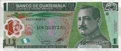 Гватемала: 1 кетсаль 2008-12 г.