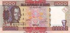 Гвинея: 1000 франков 2006 г.