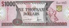 Гайана: 1000 долларов (2000 г.)