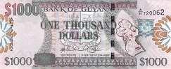 Гайана: 1000 долларов (2009 г.)