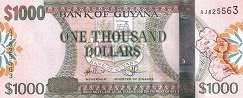 Гайана: 1000 долларов (2011 г.)