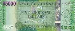 Гайана: 5000 долларов (2013 г.)