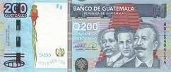 Гватемала: 200 кетсалей 2009 г.