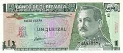 Гватемала: 1 кетсаль 1990-98 г.
