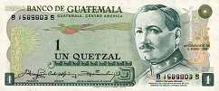 Гватемала: 1 кетсаль 1972-83 г.
