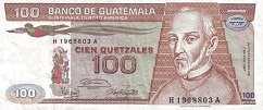 Гватемала: 100 кетсалей 1983-87 г.