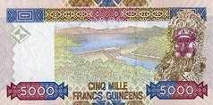 Гвинея: 5000 франков 2006 г.