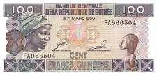 Гвинея: 100 франков 1998 г.