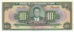 Гаити: 10 гурдов 1979 (1984) г.