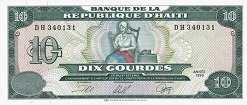 Гаити: 10 гурдов 1991-99 г.