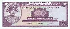 Гаити: 100 гурдов 1991 г.