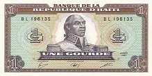 Гаити: 1 гурд 1987 г.
