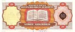 Гаити: 20 гурдов (юбилейная) 2001 г.