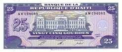 Гаити: 25 гурдов 1993 г.