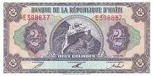 Гаити: 2 гурда 1992 г.