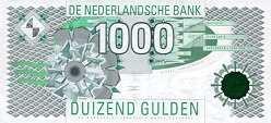 Нидерланды: 1000 гульденов 1994 г.