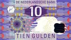 Нидерланды: 10 гульденов 1997 г.
