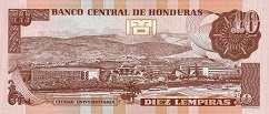 Гондурас: 10 лемпир 1996-2010 г.