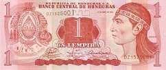 Гондурас: 1 лемпира 1994-2010 г.