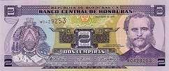 Гондурас: 2 лемпиры 1998-2010 г.