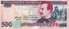 Гондурас: 500 лемпир 2000-10 г.