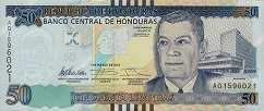Гондурас: 50 лемпир 2012-14 г.