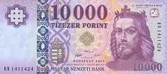 Венгрия: 10000 форинтов 2019 г.