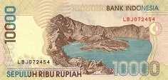 Индонезия: 10000 рупий 1998-2005 г.
