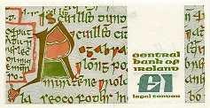 Ирландия: 1 фунт 1977-89 г.