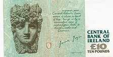 Ирландия: 10 фунтов 1993-99 г.