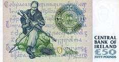 Ирландия: 50 фунтов 1995-2001 г.