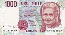Италия: 1000 лир 1990 г.