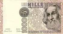Италия: 1000 лир 1982 г.