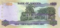 Ямайка: 1000 долларов 2002-04 г.