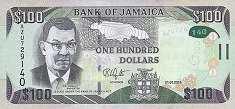 Ямайка: 100 долларов 2014-17 г.