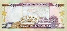 Ямайка: 500 долларов 2005-17 г.