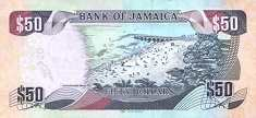 Ямайка: 50 долларов 2013-18 г.