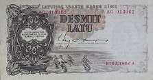 Латвия: 10 латов 1938 г.