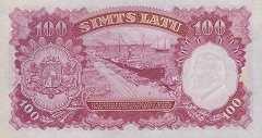 Латвия: 100 латов 1939 г.