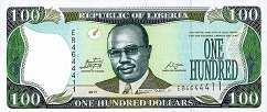 Либерия: 100 долларов 2003-11 г.