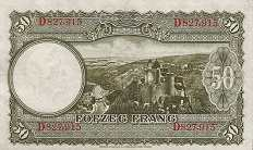 Люксембург: 50 франков (1944 г.)