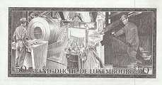 Люксембург: 50 франков 1972 г.