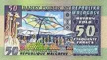Мадагаскар: 50 франков (1974 г.)