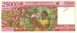 Мадагаскар: 25000 франков (1994 г.)
