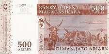 Мадагаскар: 500 ариари 2004 г.