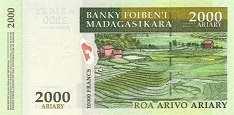 Мадагаскар: 2000 ариари (2004 г.)