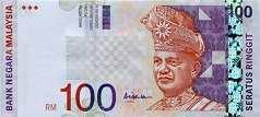 Малайзия: 100 ринггитов (1998-2001 г.)