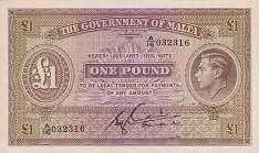 Мальта: 1 фунт (1940 г.)
