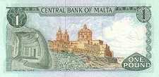 Мальта: 1 лира (1973 г.)